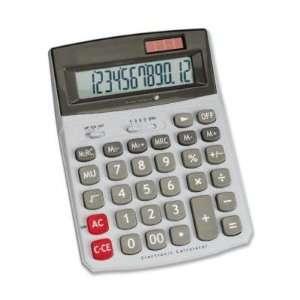 Compucessory Dual Power Desktop Calculator CCS02199: Office Products