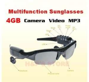 Sunglasses Sun glasses With Camera Video Recorder  Player 4GB