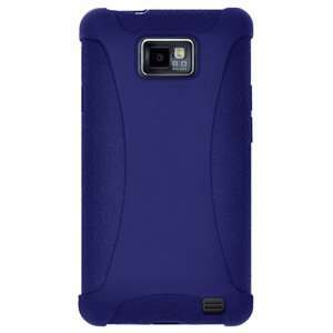 High Quality Amzer Silicone Skin Jelly Case Blue For Samsung Galaxy S