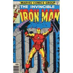 Iron Man (1st Series) #100: Bill Mantlo, George Tuska: Books