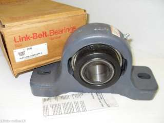 NEW Link Belt PU327 1 11/16 PILLOW BLOCK BEARING NIB