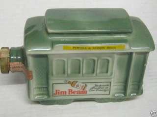 Trolly Car Jim Beam Kentucky Straight Bourbon Whiskey