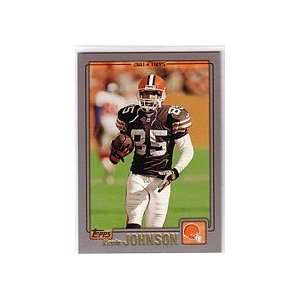 2001 Topps Football Cleveland Browns Team Set Sports