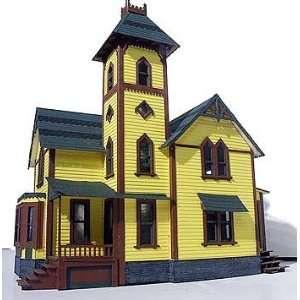 Branchline O Scale Laser Art Tower House Kit : Toys & Games :
