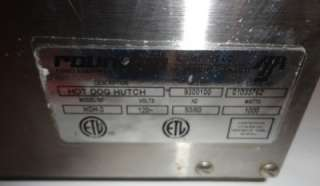 Hot Dog Hutch Steamer HDH 3 33 Capacity Commercial Kitchen Equipment