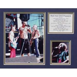 Red Hot Chili Peppers Picture Plaque Unframed: Home