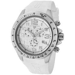 Swiss Legend Mens Eograph White Silicon Watch