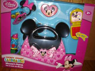 DISNEY MICKEY MOUSE CLUBHOUSE MINNIE MOUSE MINNIES PURSE NEW RARE