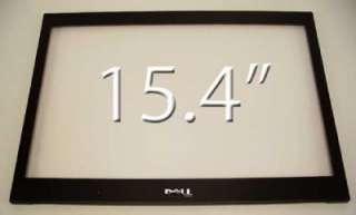 "NEW OEM Dell Latitude E6500 15.4"" Black LCD Front Trim Cover Bezel"