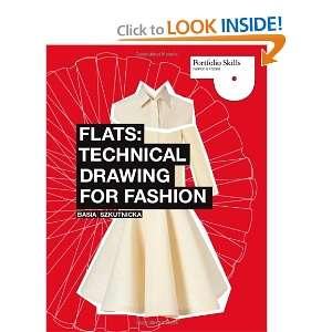 Flats Technical Drawing for Fashion (Portfolio Skills