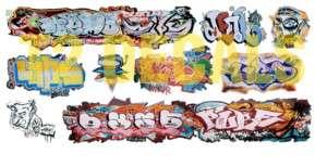 Scale Custom Graffiti Decals #33