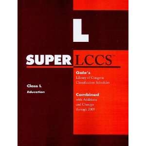 SUPERLCCS 09: Schedule L (SUPERLCCS: Schedule L Education
