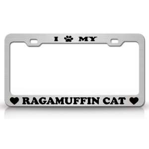 I PAW MY RAGAMUFFIN Cat Pet Animal High Quality STEEL