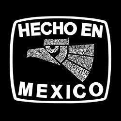 Los Angeles Pop Art Mens Hecho en Mexico T shirt