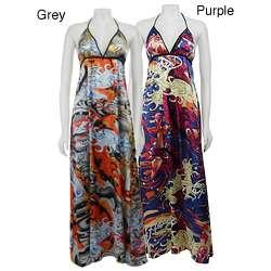 Ed Hardy Womens Lucky Swirl Maxi Dress  Overstock