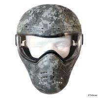 Phace Airsoft Paintball Tactical Full Face Camo ACU Green Digital Mask