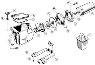 Hayward Super Pump Gasket Rebuild Go Kit Seal O Ring