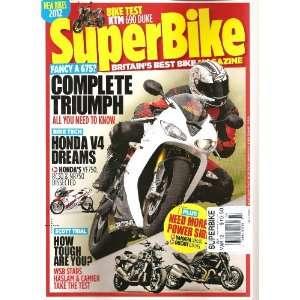 Super Bike Magazine (March 2012) Various Books