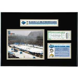 Pittsburgh Penguins   NHL Winter Classic   Ticket Frame Jr