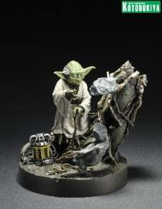 Star Wars Yoda Empire Strikes Back ArtFX Statue NEW PRESALE JULY 2012
