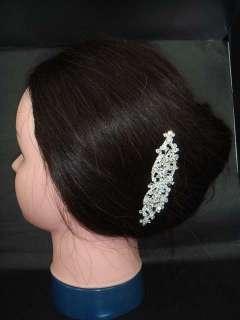 Bridal Rhinestone vintage style headdress crystal Wedding Tiara Hair