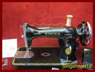 Singer 15 89 Sewing Machine Heavy Duty great for Leather