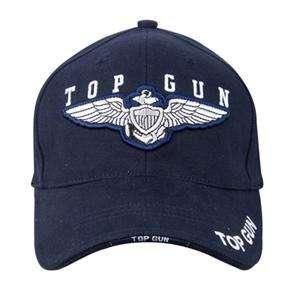 New Deluxe Low Profile Top Gun Insignia Cap