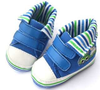 Blue New walking high top baby boy shoes 2 3 4