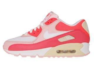 Nike Wmns Air Max 90 Hot Punch White Pink 2012 Womens Running Shoes