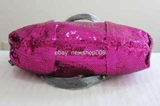2012 Betsey Johnson BRAZIL PINK Key Item Tote Bag Handbag