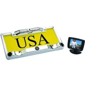 BOYO VTC433R FULL FRAME LICENSE PLATE CAMERA PACKAGE WITH BACKUP