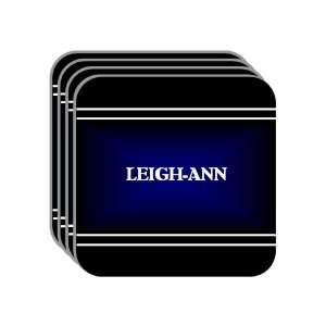 Personal Name Gift   LEIGH ANN Set of 4 Mini Mousepad