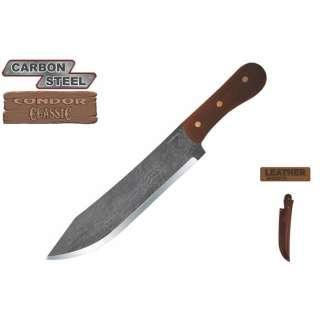 CONDOR TOOL & KNIFE HUDSON BAY CAMP KNIFE W/ SHEATH CTK240 8.5HC *NEW