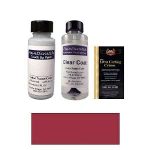 2 Oz. Red Mica Pearl Metallic Paint Bottle Kit for 2002