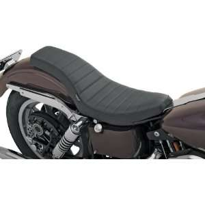 com Drag Specialties Classic Stitch Spoon Motorcycle Seat For Harley