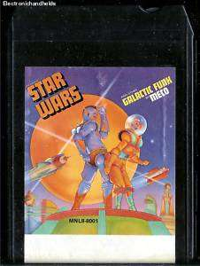 1977 STAR WARS GALACTIC FUNK BY MECO MUSIC MILLENNIUM