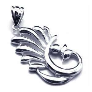 Que 925 Sterling Silver Jewelry Necklace Pendant: CET Domain: Jewelry