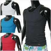 Men Tank Tops Beach Shirts Running Gym Athletics Vest 7Color US Sports