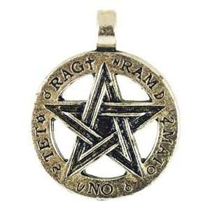 Wicca Wiccan Pagan Mens Womens Jewelry Five Pointed Star Jewelry