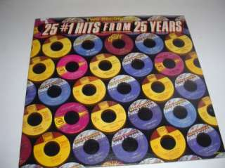 Motown   25 #1 Hits From 25 Years   2LP   Ex. Condition