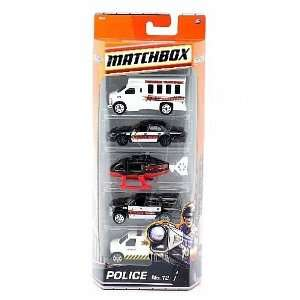 black/white), Ford Police Panel Van (white traffic unit) Toys & Games
