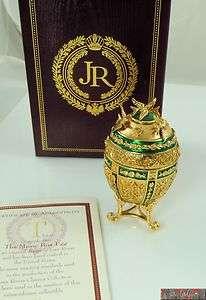 Joan Rivers Imperial Treasures Music Box Egg NIB
