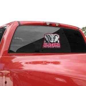 Alabama Crimson Tide 9.5 x 8 Team Mascot Window Cling