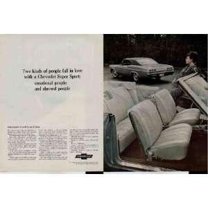 , an Impala Super Sport Coupe.  1965 Chevrolet Impala Ad, A4169