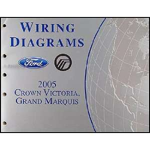 Grand Marquis Wiring Diagrams Manual Ford Motor Company Books