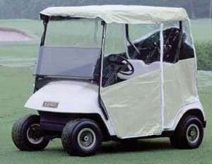 Ultimate EZGO TXT Golf Cart Enclosure   (2 Pass) Fitted