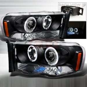 Dodge Dodge Ram Halo Projector Head Lamps/ Headlights