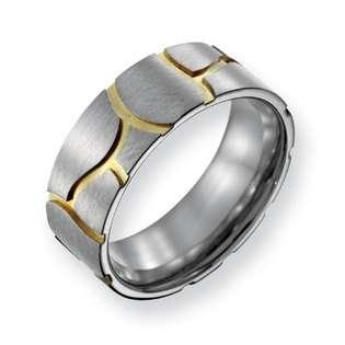Mokume Gane Striped Ring  EvesAddiction Jewelry Rings Gemstone