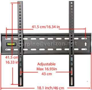 Plasma LCD Flat Screen Panel TV Wall Mount Bracket b60