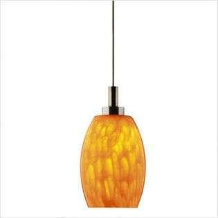 Philips Forecast Lighting Meg Low Voltage Mini Pendant Shade in Amber
